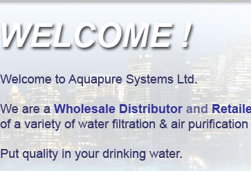 Aquapure Systems - your quality drinking water